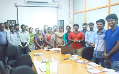 Leadership Training Programme to Staffs of VAS